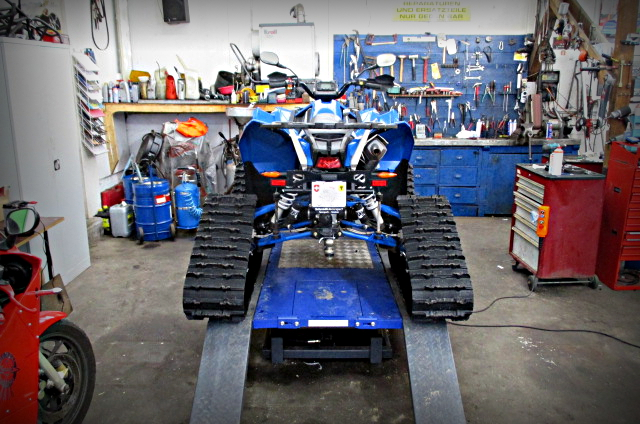 Quad-Hebebühne REMO Powerlift 1000
